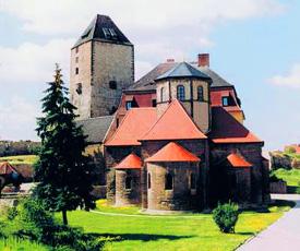 Burg in Querfurt - eine der besterhaltenen Burgen Deutschlands